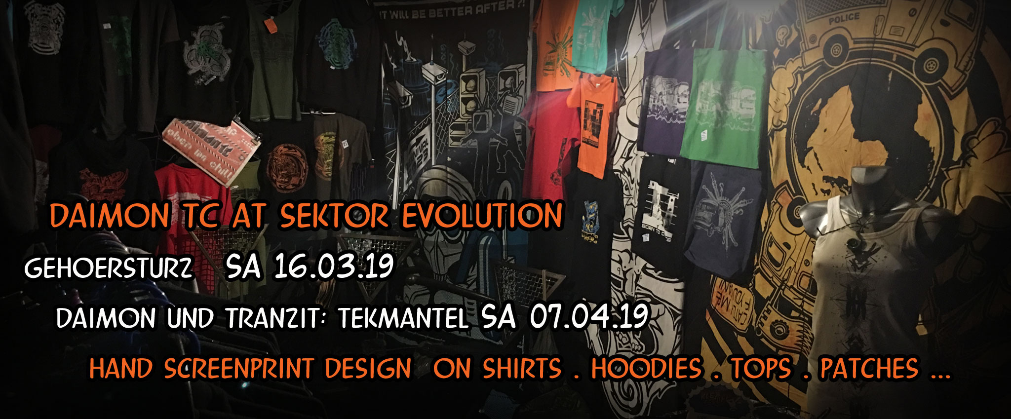 Shop Sektor Evolution Dates